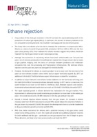 Ethane rejection cover