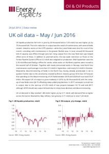 UK oil data – May / Jun 2016 cover