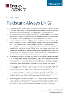 Pakistan: Always LNG? cover