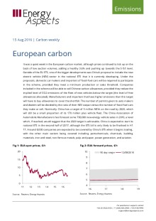 European carbon cover