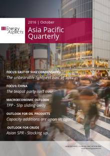 2016-10 Oil - Asia Pacific Quarterly cover