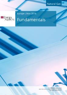 2016-11 Natural Gas - Europe Fundamentals cover