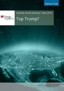 2016-11 Natural Gas - North America Outlook - Top Trump? cover