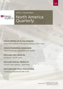 2016-11 Oil - North America Quarterly cover