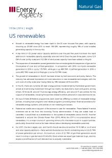 2016-12 Natural Gas - North America Insight - US renewables cover