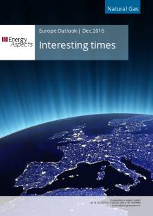 2016-12 Natural Gas - Europe Outlook - Interesting times cover