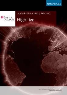 2017-02 Natural Gas - Global LNG Outlook - High five cover