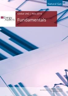 2016-11 Natural Gas - Global LNG Fundamentals cover