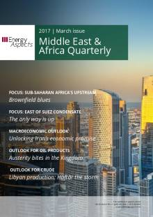 2017-03 Oil - Middle East and Africa Quarterly cover