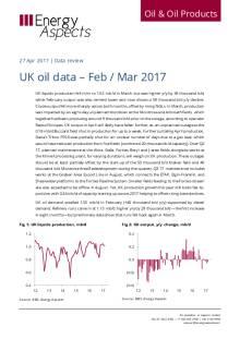 2017-04 Oil - Data review - UK oil data – Feb / Mar 2017 cover