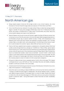 2017-05-10 Natural Gas - North America Panorama - North American gas cover