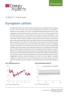 2017-05-22 Emissions - Carbon weekly - European carbon cover