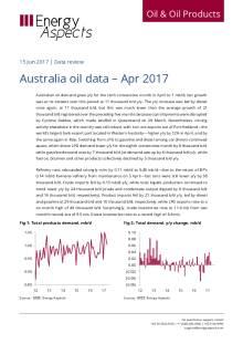 Australia oil data – Apr 2017 cover image
