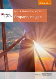 2017-06 LPG and NGLs - Outlook - Propane, no gain cover