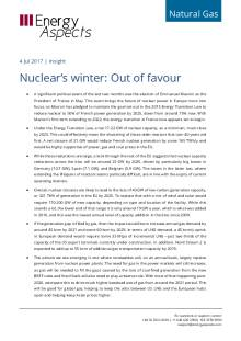 2017-07-04 Natural Gas - Europe - Nuclear's winter: Out of favour cover