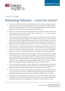 Revisiting Pakistan – room for more? cover image