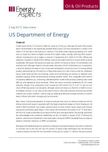 2017-08 -02-Oil - Data review - US Department of Energy cover