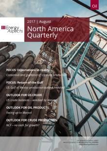2017-08 Oil - North America Quarterly cover