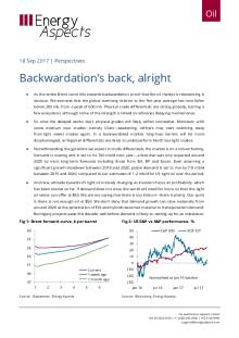2017-09-18 Oil - Perspectives - Backwardation's back, alright cover