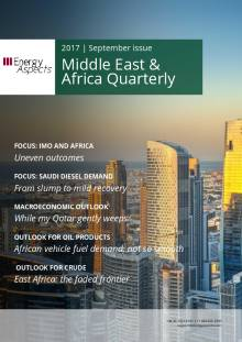 2017-09 Oil - Middle East and Africa Quarterly - Middle East & Africa Quarterly cover