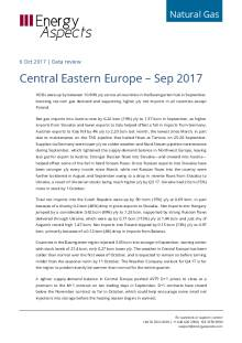 2017-10-06 Natural Gas - Central Eastern Europe – Sep 2017 cover