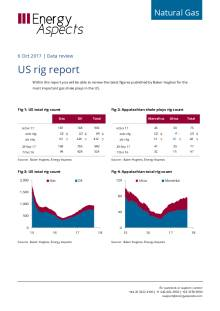 2017-10-06 Natural Gas - North America - US rig report cover