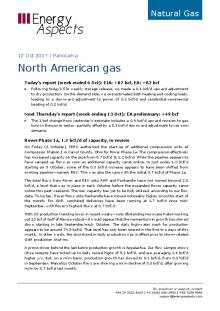 2017-10-12 Natural Gas - North America - North American gas cover