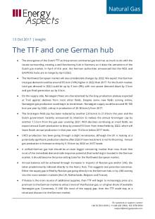 2017-10-13 Natural Gas - Europe - The TTF and one German hub cover