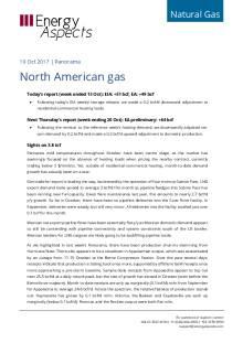 2017-10-19 Natural Gas - North America - North American gas cover