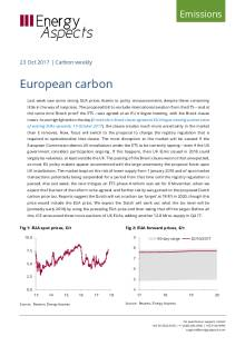 2017-10-23 Emissions - Carbon weekly - European carbon cover