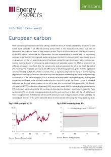 2017-10-30 Emissions - Carbon weekly - European carbon cover