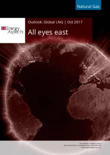 2017-10-31 Natural Gas - Global LNG - All eyes east cover