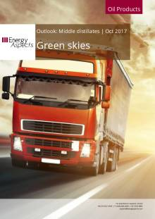 2017-10 Oil - Middle distillates Outlook - Green skies cover