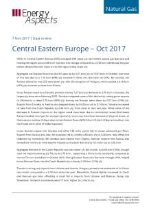 Central Eastern Europe – Oct 2017 cover image