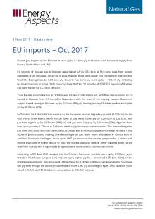 EU imports – Oct 2017 cover image