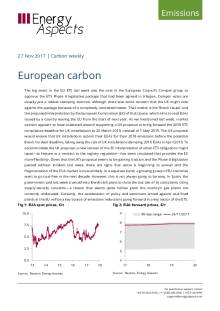 2017-11-27 Emissions - Carbon weekly - European carbon cover