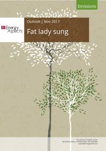 Fat lady sung cover