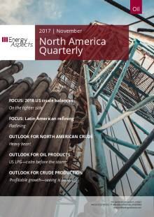 2017-11 Oil - North America Quarterly cover