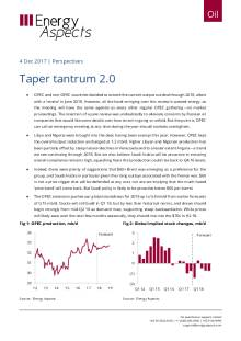 2017-12-04 Oil - Perspectives - Taper tantrum 2.0 cover