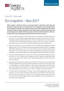 2017-12-05 Natural Gas - Europe - EU snapshot – Nov 2017 cover