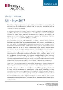 2017-12-05 Natural Gas - Europe - UK – Nov 2017 cover