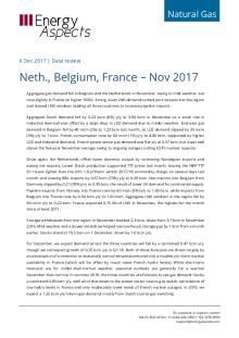 2017-12-06 Natural Gas - Europe - Neth., Belgium, France – Nov 2017 cover