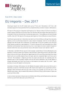 2018-01-08 Natural Gas - Europe - EU imports – Dec 2017 cover