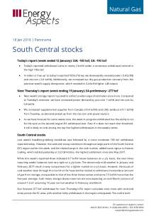 2018-01-18 Natural Gas - North America - South Central stocks cover