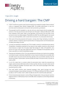 2018-01-19 Natural Gas - Europe - Driving a hard bargain: The CMP cover