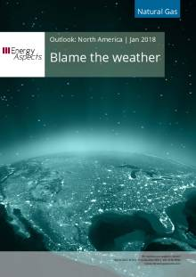 2018-01-31 Natural Gas - North America - Blame the weather cover