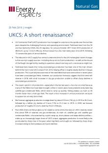 2018-02-20 Natural Gas - Europe - UKCS: A short renaissance? cover