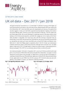 2018-02 Oil - Data review - UK oil data – Dec 2017 / Jan 2018 cover