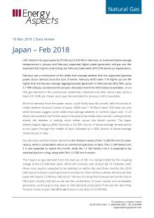 2018-03-19 Natural Gas - Global LNG - Japan – Feb 2017 cover