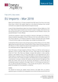 2018-04-09 Natural Gas - Europe - EU imports – Mar 2018 cover